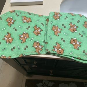 New bundle of baby burp cloths total of 4 cloths